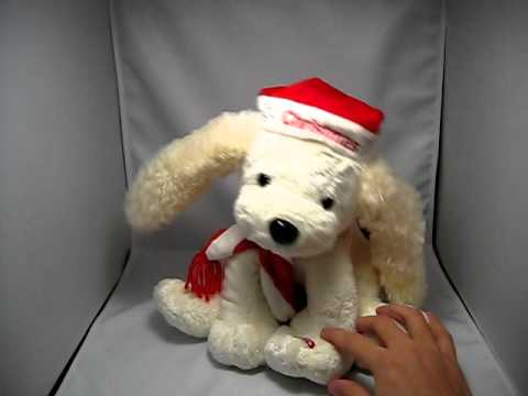 Funny Dancing Stuffed Animal Dog Singing Merry Christmas Must