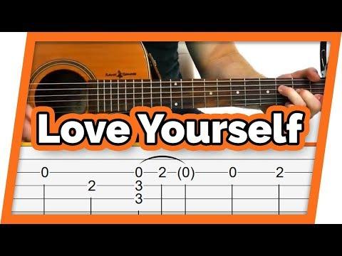 Love Yourself Guitar Tutorial (Justin Bieber)
