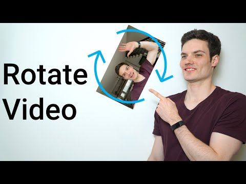 How To Rotate Video On Windows 10