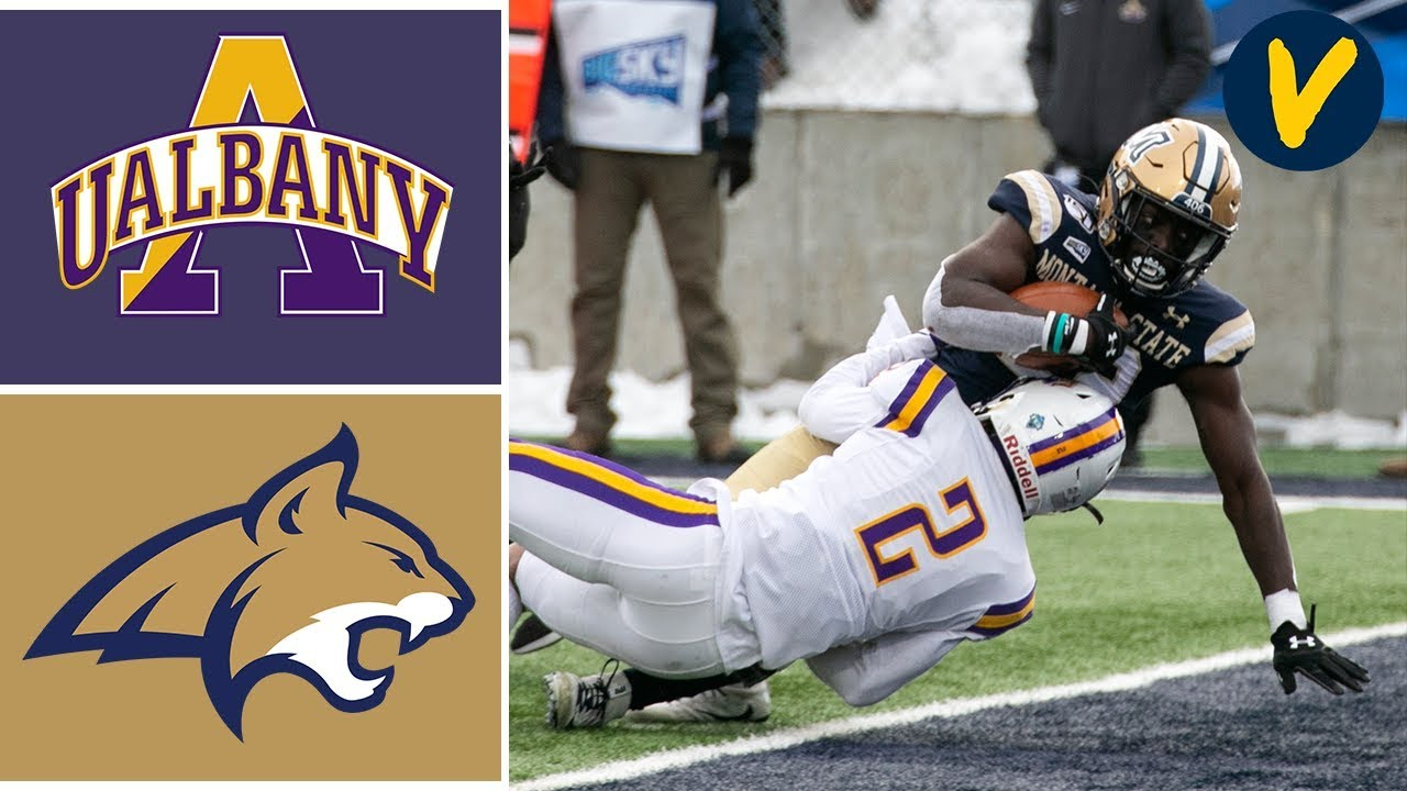 Albany vs Montana State Highlights 2019 FCS Playoffs Second Round