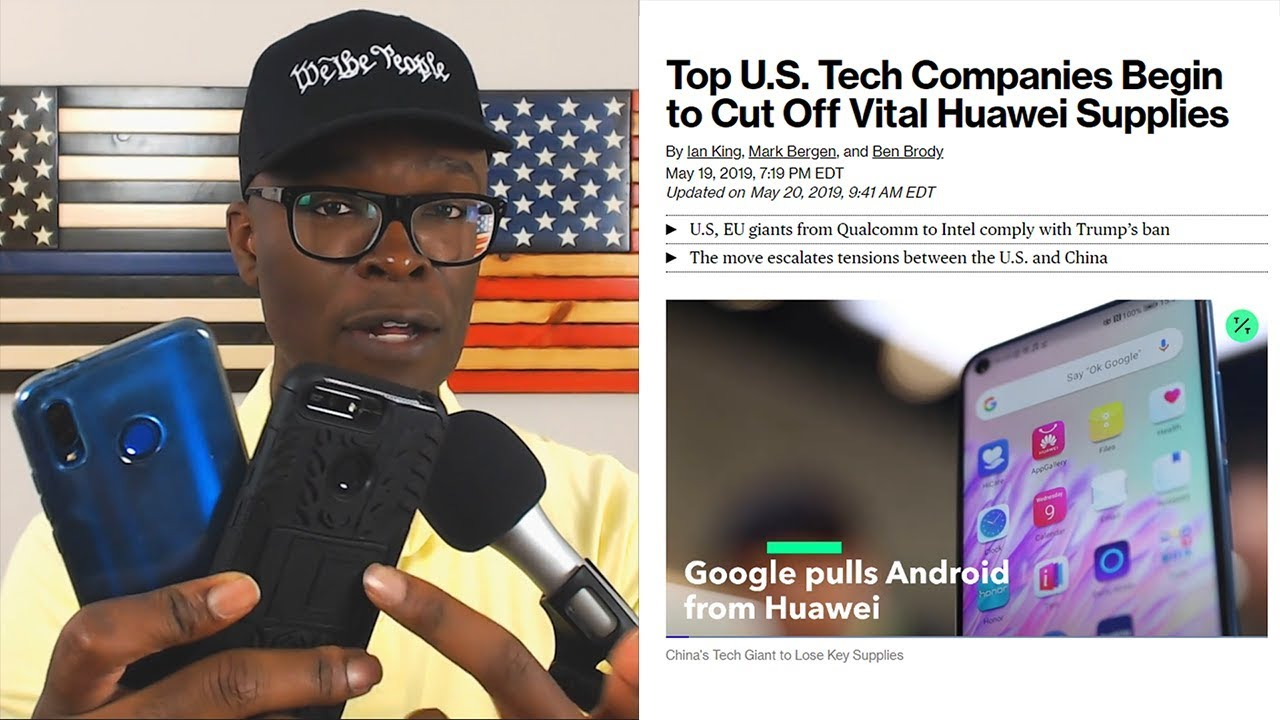 Anthony Brian Logan Google REVOKES Huawei Access After US Government BAN!