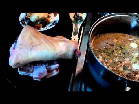 Маринад для свинины холодного копчения.