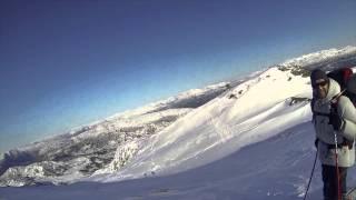 Ski, sol og pudder på Gullfjellet mars 2013