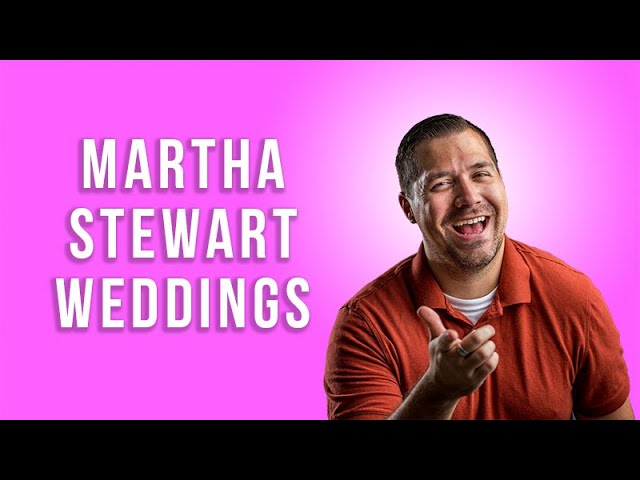 Martha Stewart Weddings with Liz Banfield