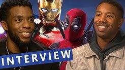 Black Panther: Die Marvel-Lieblingsfilme der Darsteller | Interview
