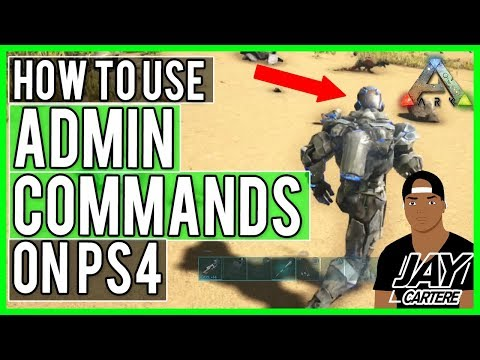 Ark Survival Evolved PS4 - How To Get Element And Tek Gear Quickly/Fast - How To Use Admin Commands