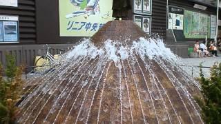 近鉄奈良駅前で行基菩薩の噴水を見ました。