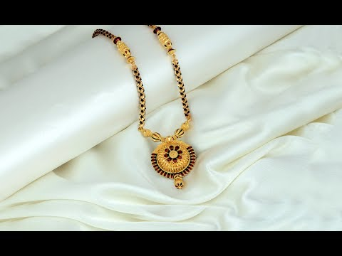 Latest Simple And Cute Gold Mangalsutra Designs