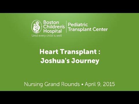 Joshua's Heart Transplant Journey | Boston Children's Hospital Pediatric Transplant Center