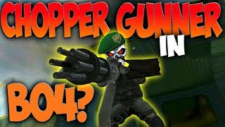 Black Ops 4 Chopper Gunner Scorestreak DLC? ( COD BO4 Jungle Gameplay)