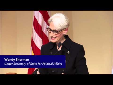 Undersecretary of State Wendy Sherman Receives Trainor Award