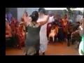 Punjabi dance old man and young girl