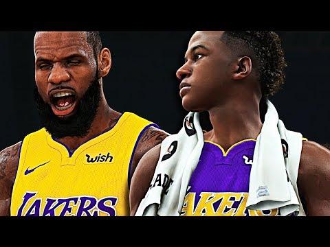 Bronny Jr. - The Future Ft. LeBron James | NBA2K18