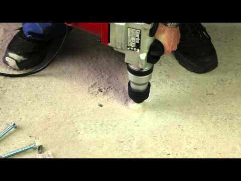 Fitting a Torc Ground Anchor using Chemical Resin Capsules - YouTube
