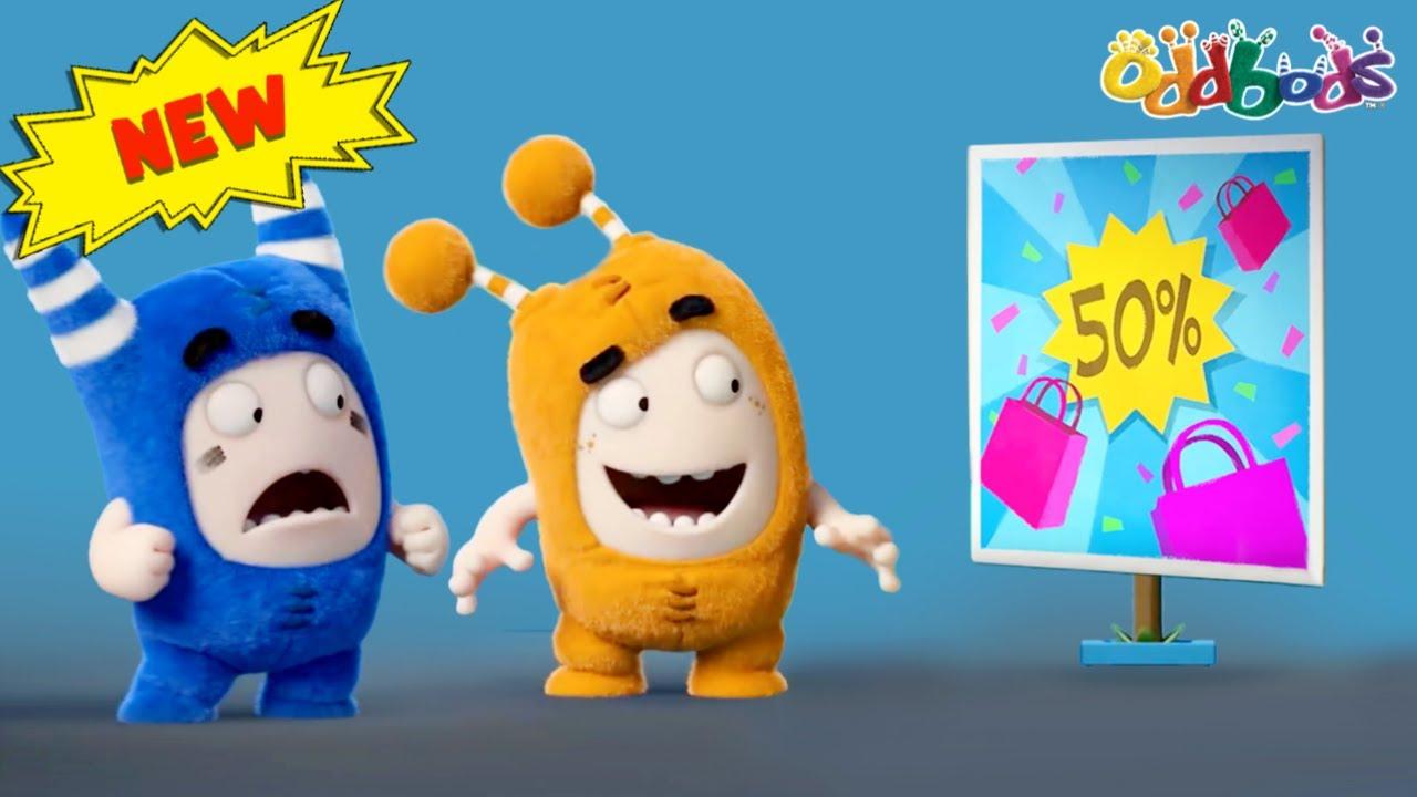 Oddbods   NEW   SHOPPING HAUL   Funny Cartoons For Kids