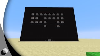 Space invaders in minecraft