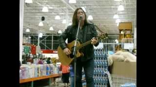 "Where The Nightingales Sing, Alan Doyle, Costco ""Boy On Bridge"" Promotional Appearance, Halifax"