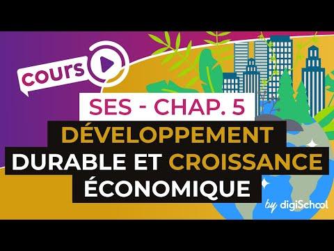 Chapitre 5 : Développement Durable et Croissance économique