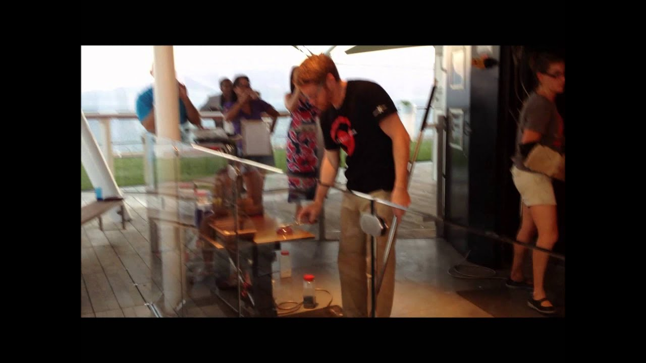 Hot Glass Blowing Cruise Ship Celebrity X Equinox - Youtube-2487