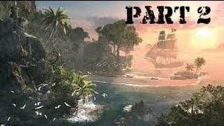 Lets Play Assassins Creed IV Black Flag Part 2 finding are way to havana and abstergo entertainment