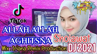 Download DJ SHOLAWAT ALLAH ALLAH AGHISNA YA RASULLULAH SLOW TIK TOK FULL BASS