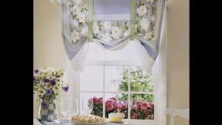 Шторы для кухни в деревенском стиле(http://shtora-besplatno.ru/youtube/free - БЕСПЛАТНЫЕ видеоуроки по пошиву штор покрывал, подушек и другого домашнего текстил..., 2014-03-05T07:33:41.000Z)