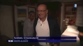 REPORTAGE FR3 ALSACE PROTHÈSE TOTALE DE  HANCHE AMBULATOIRE, DOCTEUR MICHAUD, COLMAR