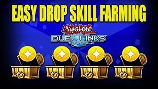 Easy Drop Skill Farming   Yu-Gi-Oh Duel Links