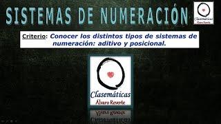 Sistemas de Numeración (0401)