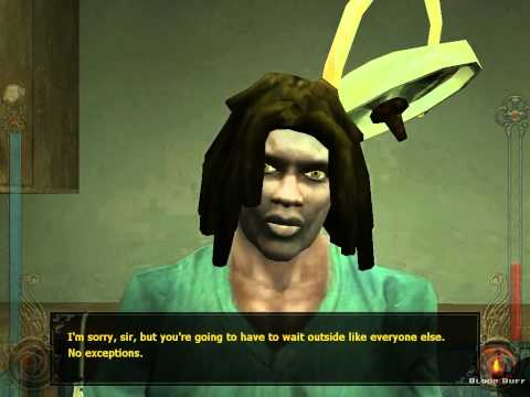 Vampire - The Masquerade: Bloodlines game footage: Santa Monica Clinic