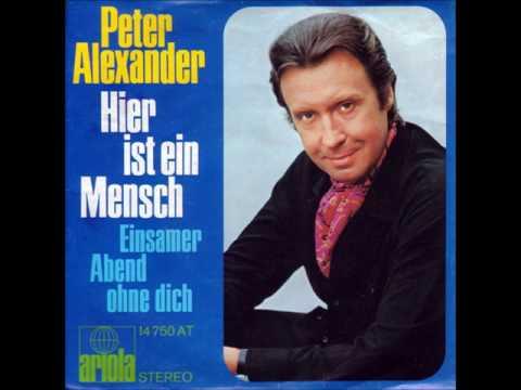 Peter Alexander - Hier ist ein Mensch -
