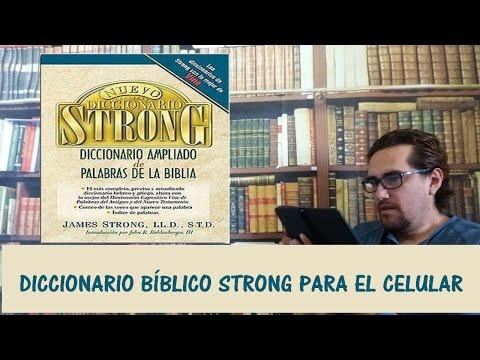 Diccionario Bíblico STRONG Para Celular - Apps Cristianas - CANAL CRISTIANO