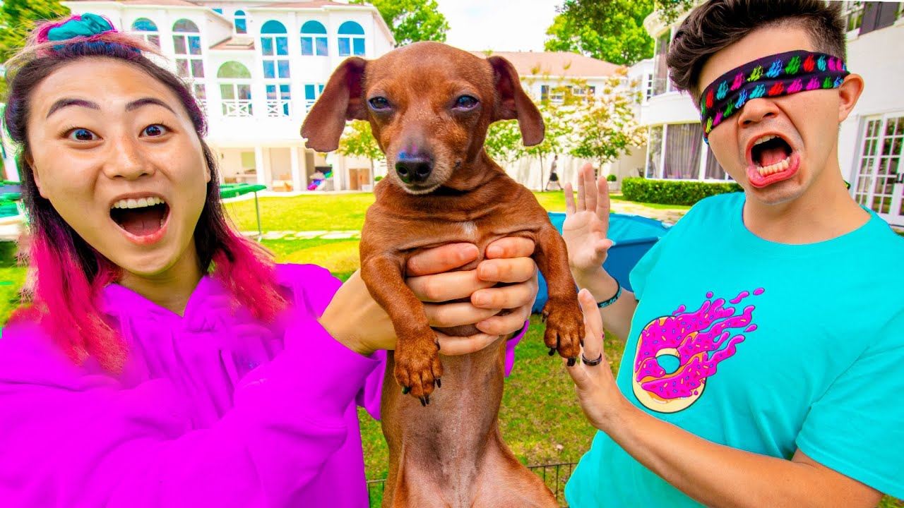 I SURPRISED PRESTON WITH HIS DREAM DOG!!