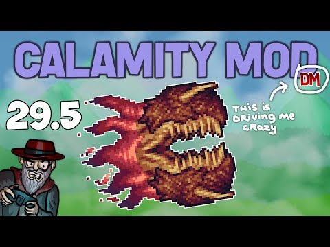 Terraria # 29.5 HARDER THAN I EXPECTED! Calamity Mod D-Mode Let's Play