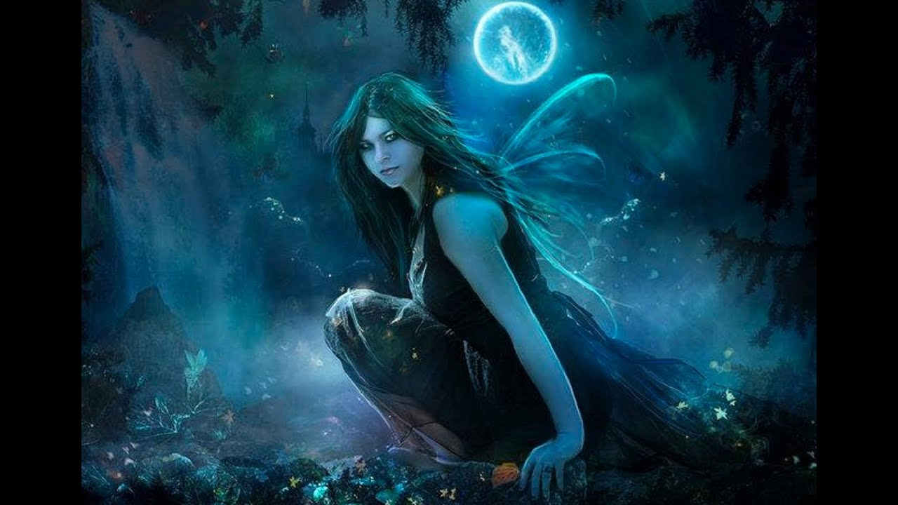 Girl Walking Alone Wallpaper Beautiful Fairy Music Night Fairies Youtube