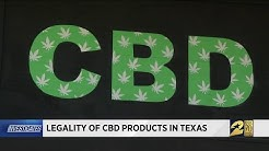 Legality of CBD products in Texas