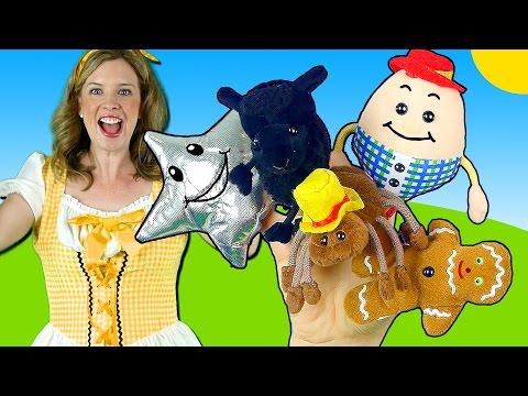 Nursery Rhymes Finger Family Song - Humpty Dumpty, Itsy Bitsy, Twinkle Twinkle, Baa Black Sheep