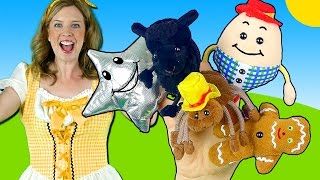 Nursery Rhymes Finger Family Song - Humpty Dumpty, Itsy Bitsy, Twinkle Twinkle, Baa Black Sheep