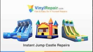 Bounce House Repair In Under 5 Minutes With This Vinyl Repair Tape