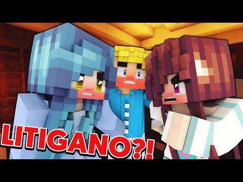 YUMI E VIOLET LITIGANO PER ME...?! CraftUniversity Villa (Minecraft ITA Roleplay)