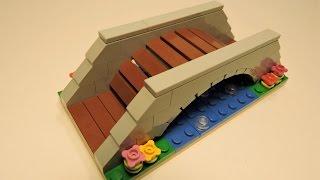 LEGO Park Bridge  - Tutorial