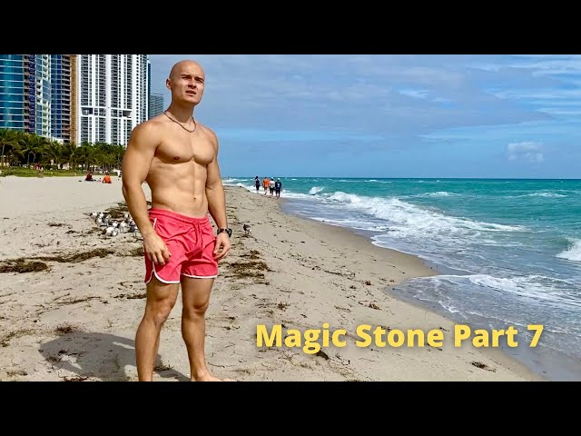 Teleporting from Miami Beach to the Snow. Magic Stone Part 7