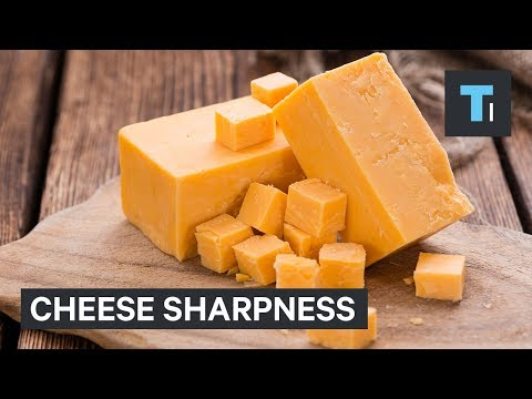 Here's the difference between mild, sharp, and extra sharp cheddar cheese