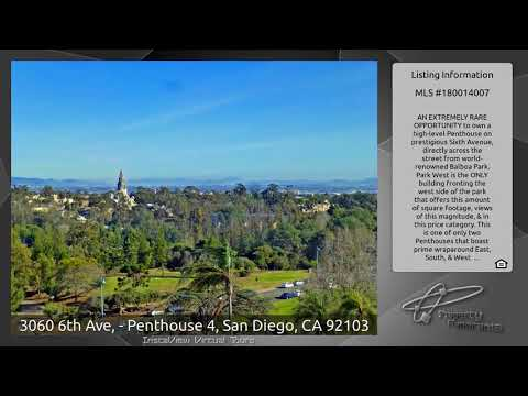 3060 6th Ave, - Penthouse 4, San Diego, CA 92103