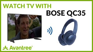 How to Pair and Connect to Bose QC35 - Avantree Oasis