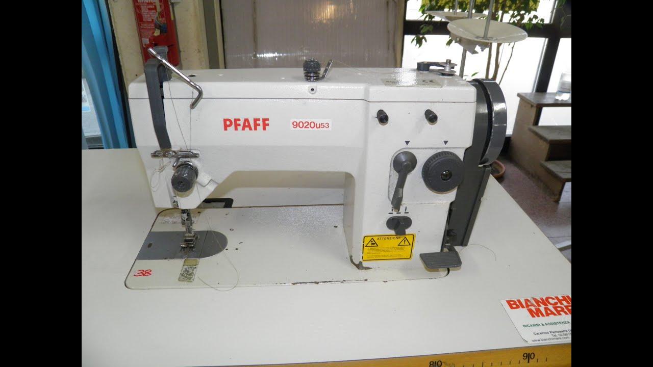Rif 38 asta macchina per cucire zig zag pfaff youtube for Macchine da cucire piccole