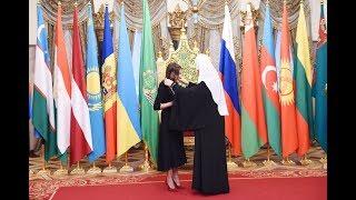 Мехрибан Алиевой в Москве вручен орден святой равноапостольной княгини Ольги