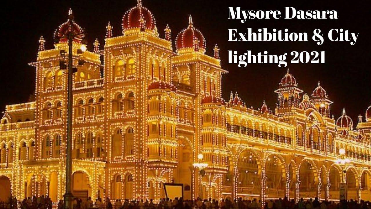 Download Mysore Dasara Exhibition &  city lighting 2021 #MysoreDasaralightings2021 #DasaraExhibition2021