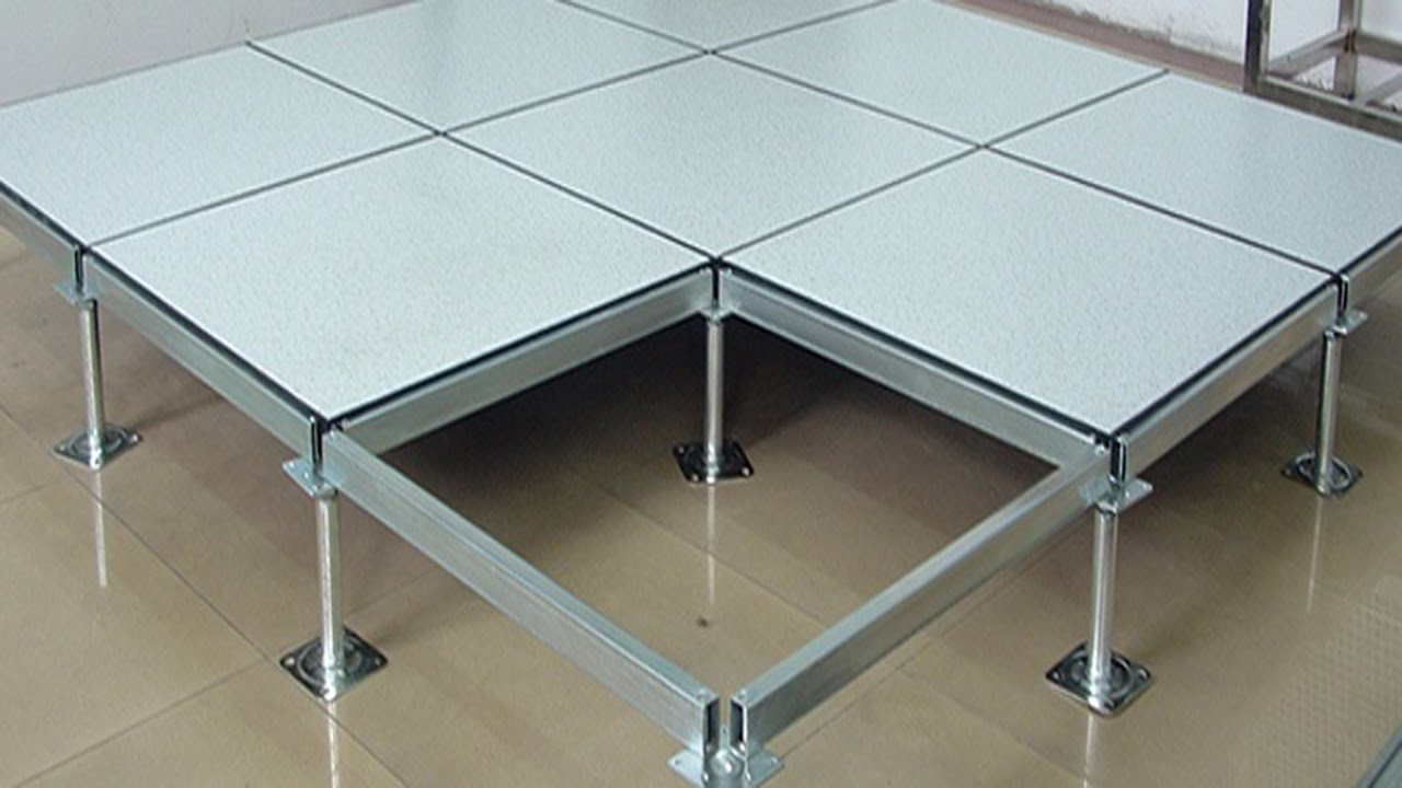 Anti Static Perforated Access Floor Computer Room Raised Flooring