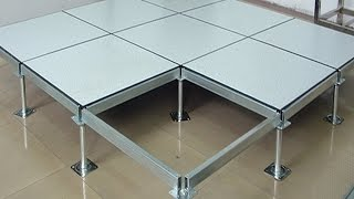 Steel anti static perforated access floor computer room raised flooring building materials Data Cent